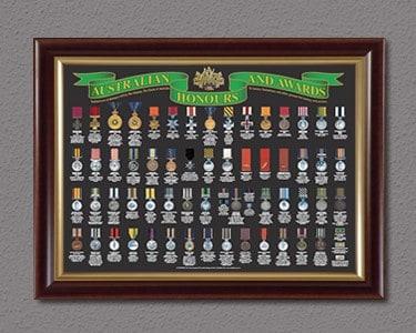 Australian Honours and Awards Display